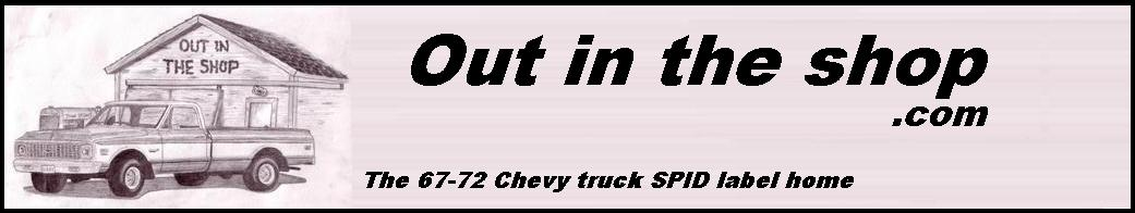 Custom SPID labels Truck Pics 67-72 FAQ Links Drawings